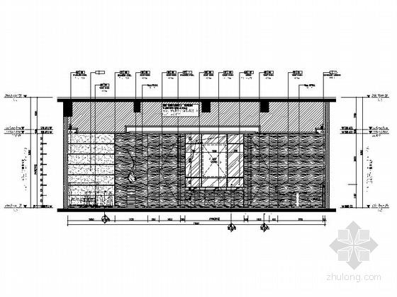 [中山]商业中心五星级酒店高档火锅店装修施工图立面图