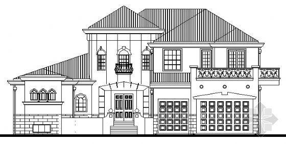 某二层花园别墅建筑施工图