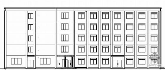 [毕业设计]某五层旅馆建筑结构方案图(配计算书)