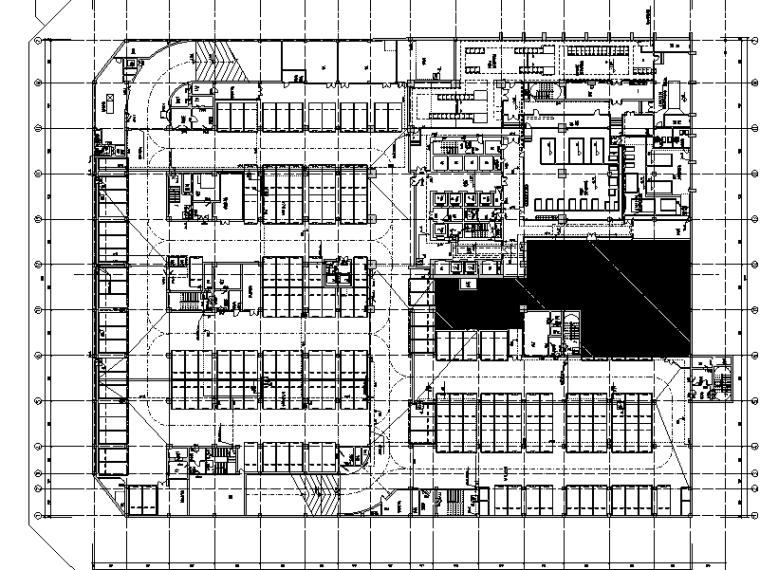 南通国际贸易中心给排水施工图设计(CAD)