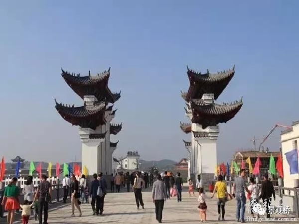 """安徽太湖""""十里画廊""""景观桥梁品鉴"""