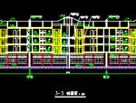 独立小型别墅建筑施工图