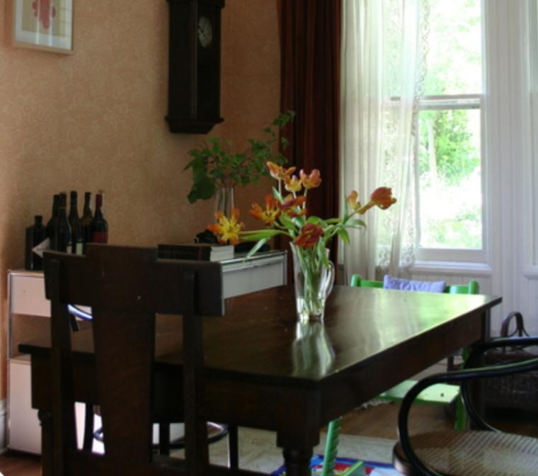 复古文艺两居室室内设计及实景图