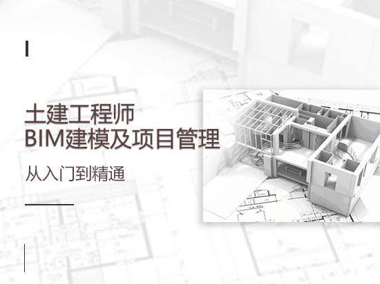 土建工程师BIM建模及项目管理从入门到精通