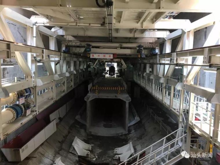 汕头海湾隧道建设稳步推进东线形成12米长主体结构_6