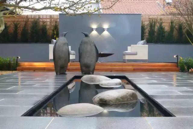 赶紧收藏!21个最美现代风格庭院设计案例_182