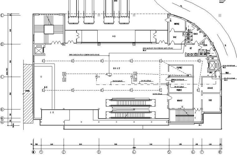 某国际客运站公共建筑弱电系统施工图