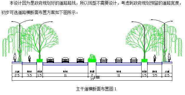 [台州]城市道路毕业论文开题报告