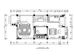 联排别墅样板房设计CAD施工图(含效果图)
