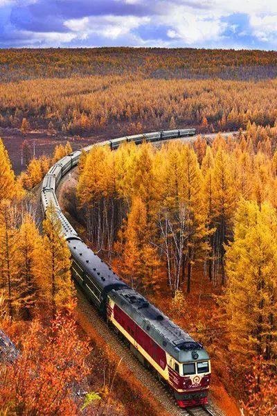 集齐这8张火车票,你也就看过了最美的中国……