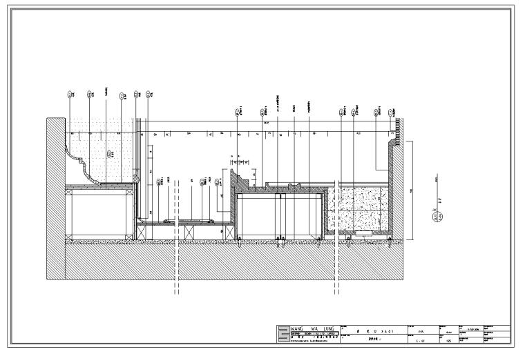 香榭丽花园样板房室内设计施工图