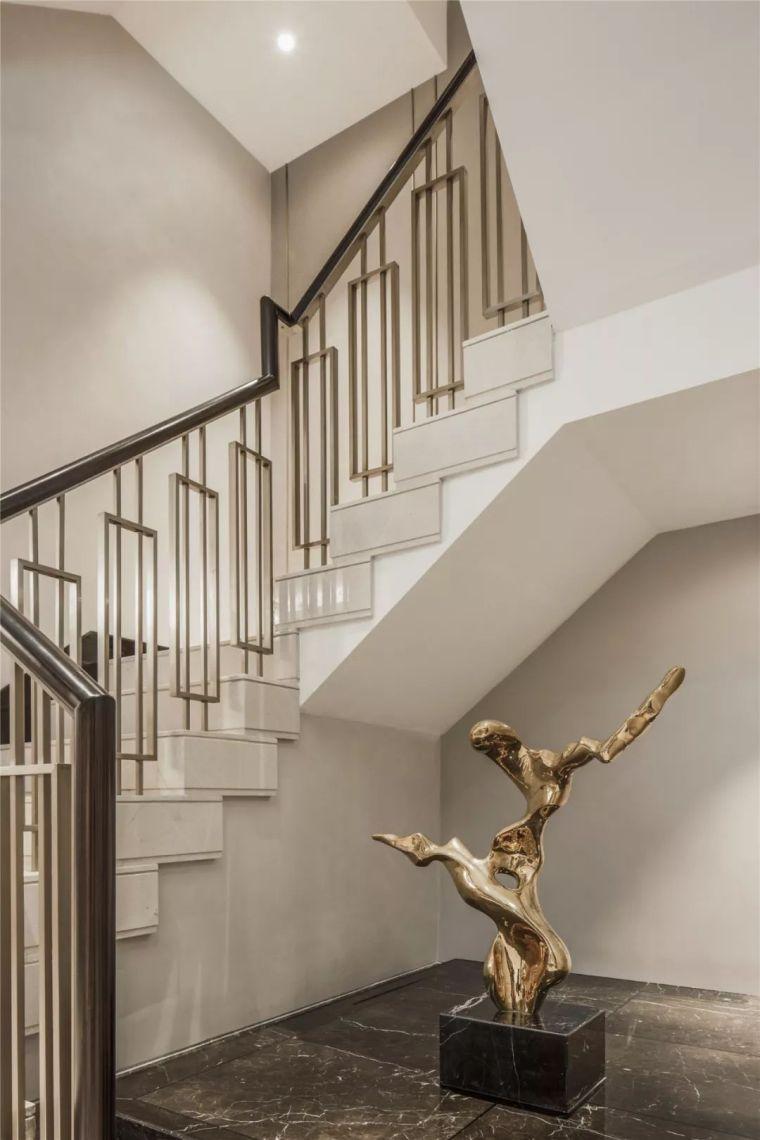 450㎡现代别墅设计,高贵与品质兼备!_14