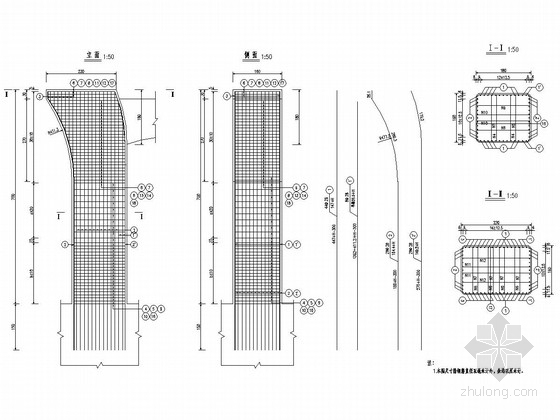 4×25m+(25+32+25)m现浇预应力等截面连续箱梁桥施工图设计100张