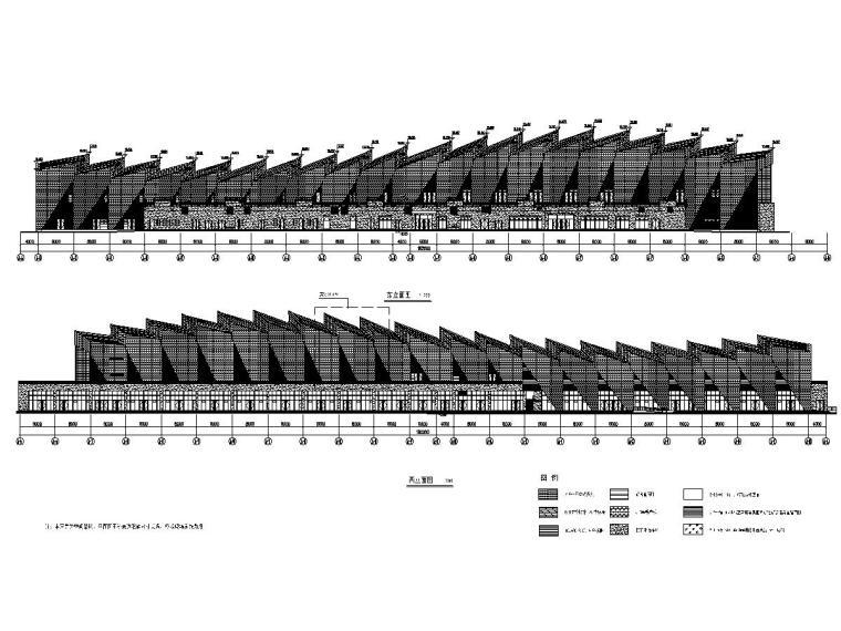 江苏体育馆玻璃幕墙系统深化设计施工图(节点图超详细)