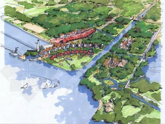 [上海]城市水系景观总体规划设计方案