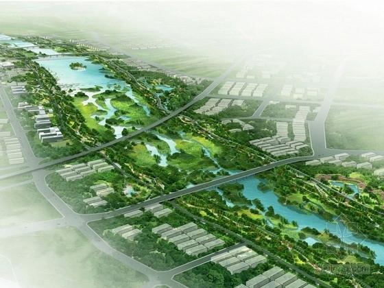 [陕西]文化生态公园景观规划设计方案(国内著名大型设计机构作品)