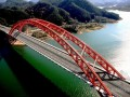 净跨120米中承式异型钢管拱拱桥支架计算书(91页 附大量支架施工图)