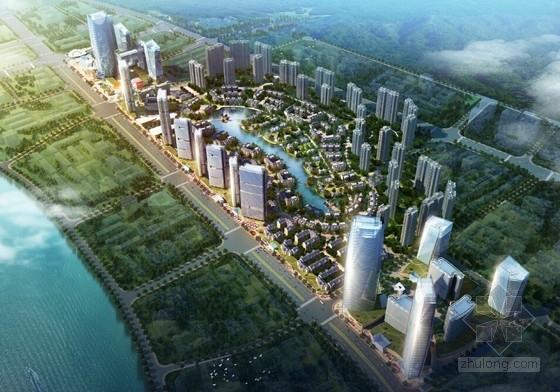 [广西]现代风格城市综合体建筑设计方案文本