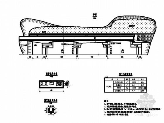 公路复合式衬砌隧道施工图设计(中交)