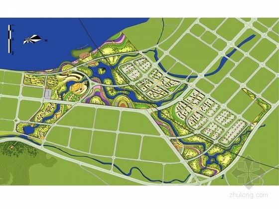 [四川]现代生态田园城市规划设计方案