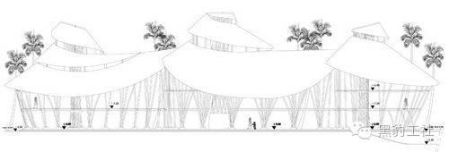 景观设计中的竹建筑案例浅析——巴厘岛上的竹子学校_11