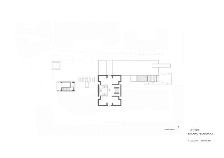 徐州现代语境表现的城墙博物馆平面图 (14)