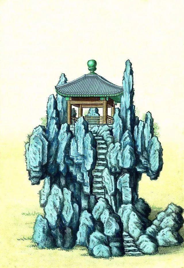 另一个视角:外国人画笔下的中式古典建筑_10