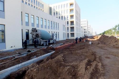 U型大学教学楼设计资料下载-[北京]房山区韩村河镇政府教学楼给排水工程施工组织方案
