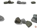 一推石头的SU素材