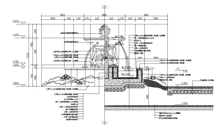 居住区景观设计方案整套详细施工图