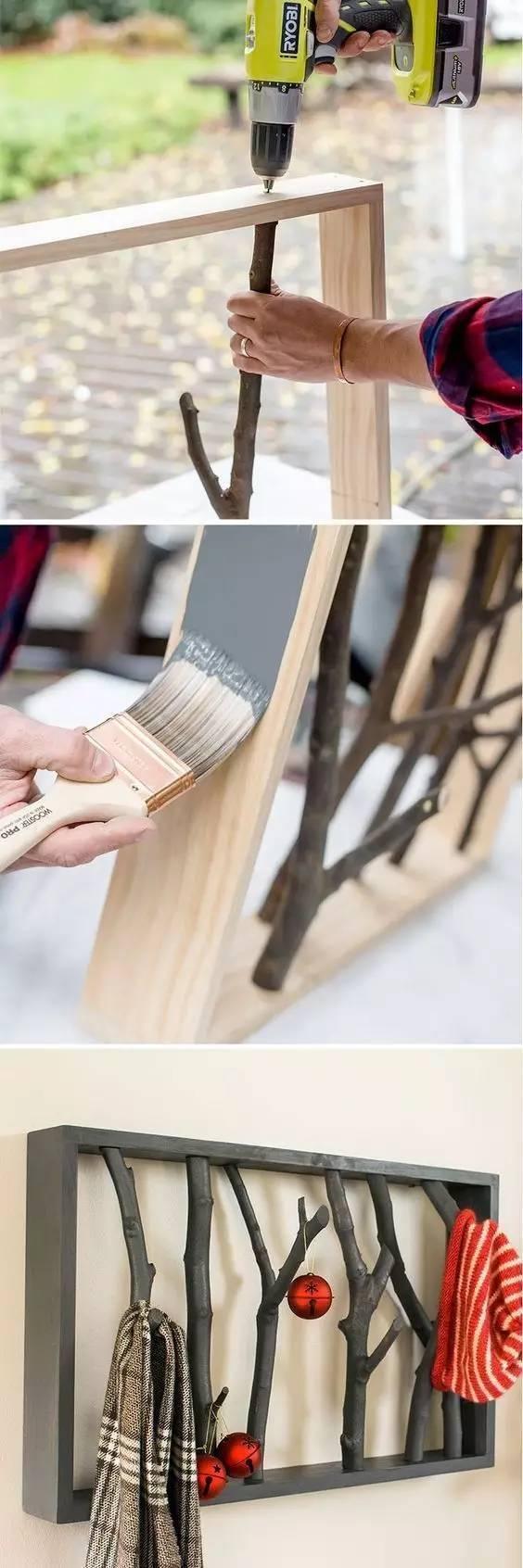 [毛坯房装修设计]一根树枝引发的无数联想。。。。。