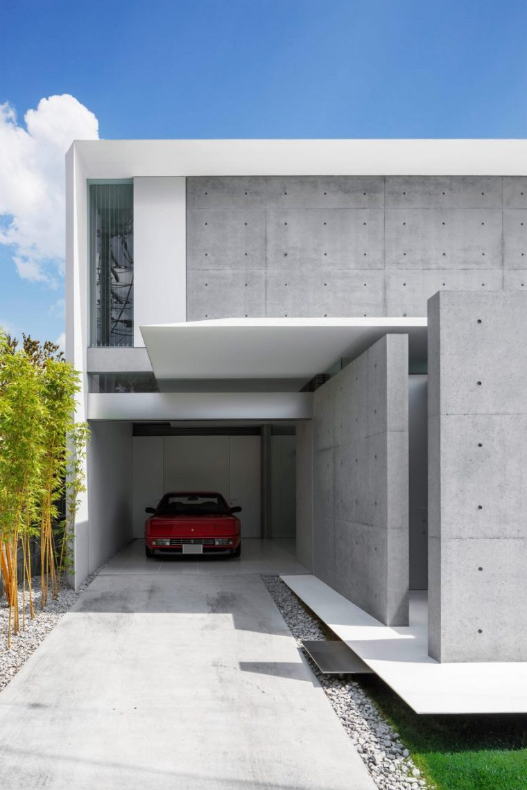[建筑案例]日本山口县混凝土住宅