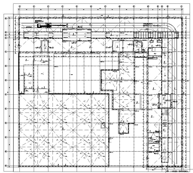 北京望京大型文化交流中心电气施工图(含酒店及办公)