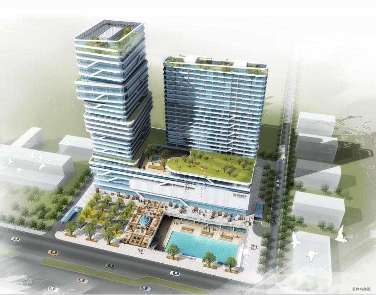 [河北]超高层现代风格螺旋状商业办公综合体建筑设计方案文本