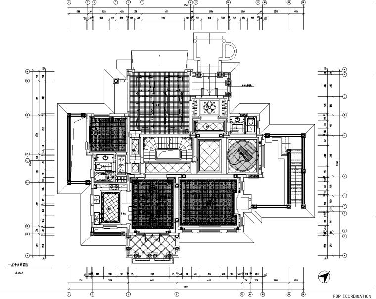 [青岛]城阳山水太和月光别墅装修施工图