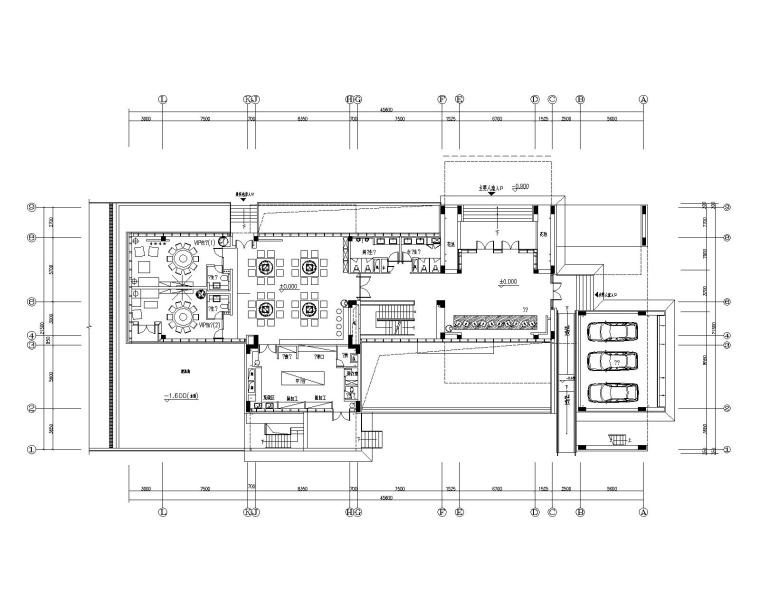 [四川]成都青羊区办公楼室内装修设计施工图