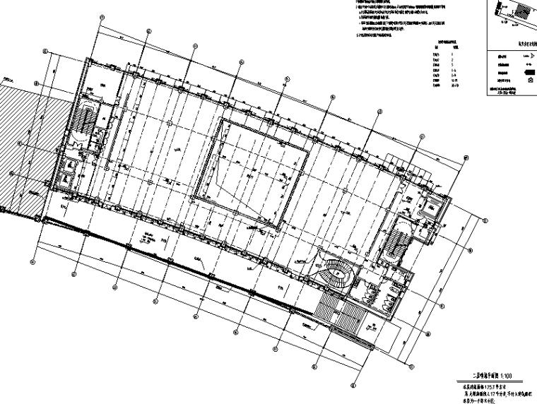 启东市科技馆给排水系统工程施工图(CAD)