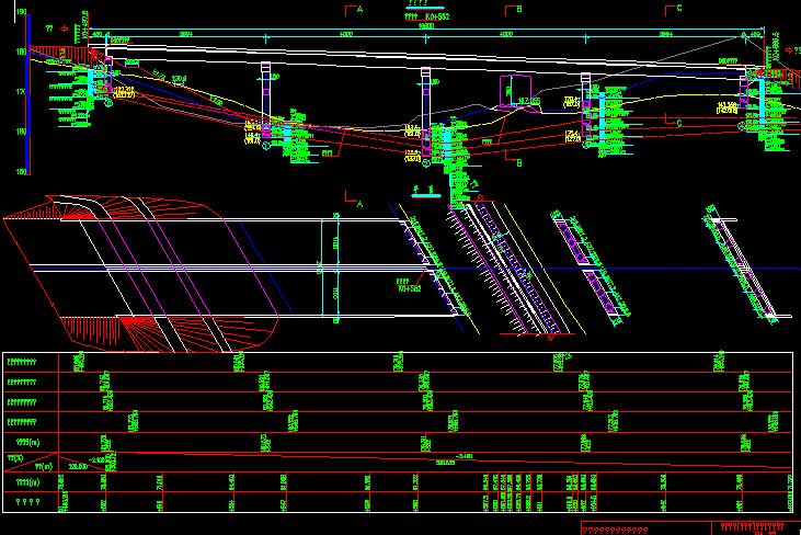 连接线工程设计图纸861张CAD 路桥工程图纸 筑龙路桥市政论坛