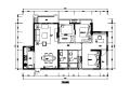 [福州]新中式住宅精装样板间设计施工图(含实景图)