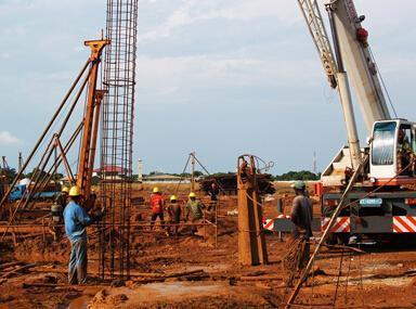 旋挖机钻孔灌注桩出现垂直度偏差怎么办?