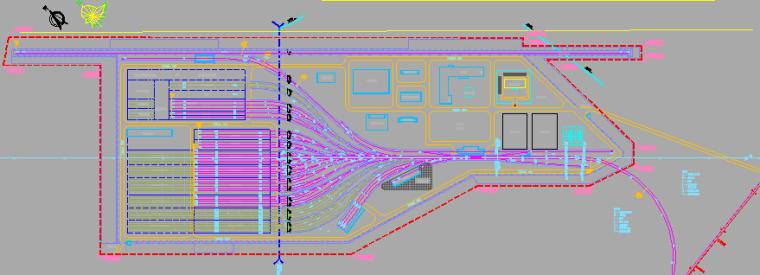 2016年设计际城铁路车辆段与综合基地初步设计图纸全套335张(建筑结构工艺设备,概算)_7
