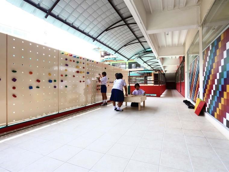 泰国全新的视障人士课室内空间