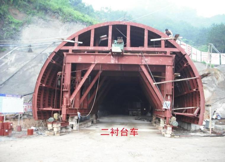 V级浅埋围岩资料下载-四川省高速公路隧道施工标准化实例