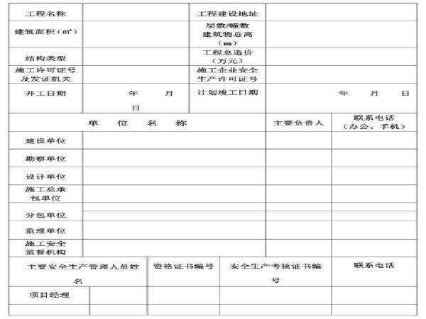 河北省版安全资料(软件目录及表格)(135页)