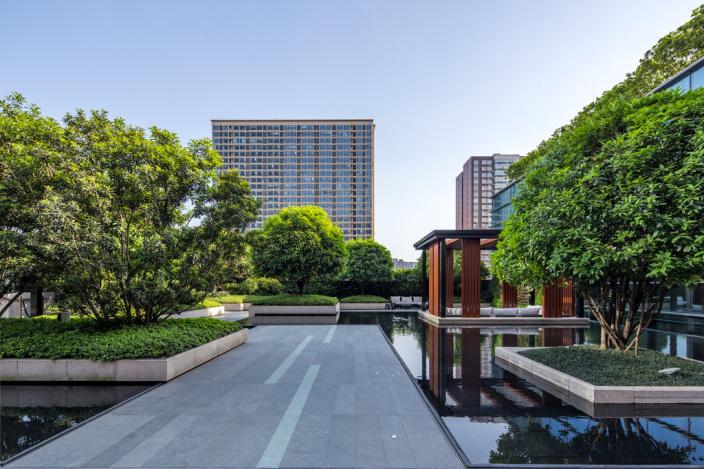 长沙瑞吉酒店周围景观