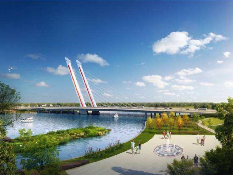 [郑州]贾鲁河大桥等桥梁工程预制梁场建设方案