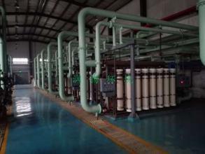 [内蒙古]世纪恒润化工电厂锅炉补给水处理理车间施工方案