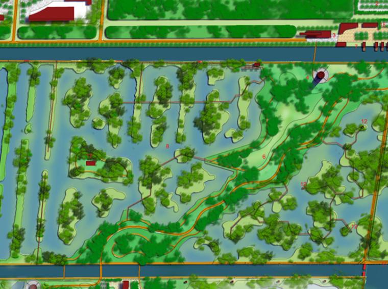 [廣東]廣州南沙濱海濕地公園總體概念規劃方案(生態濕地)