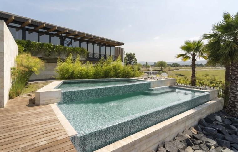 墨西哥巴勒莫湖畔住宅-1 (1)