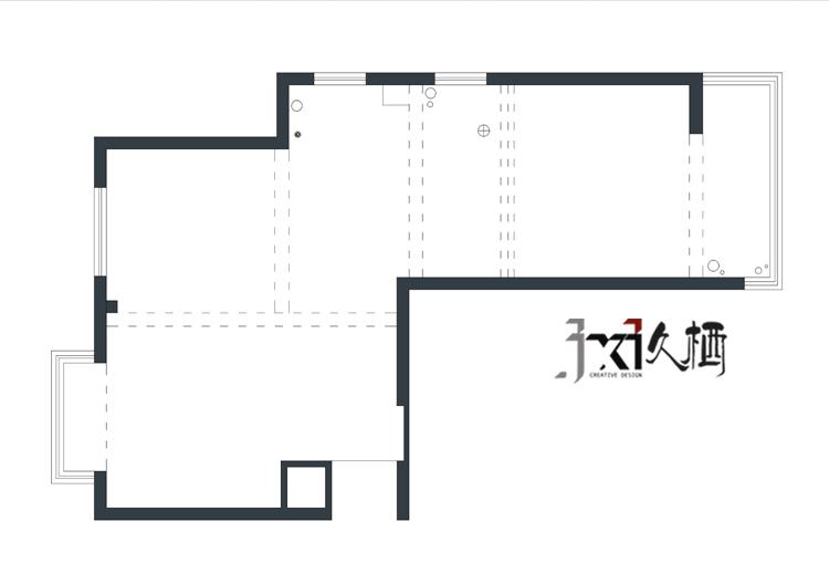 [久栖设计]福州市鹤林新城60㎡恋上小户型_17